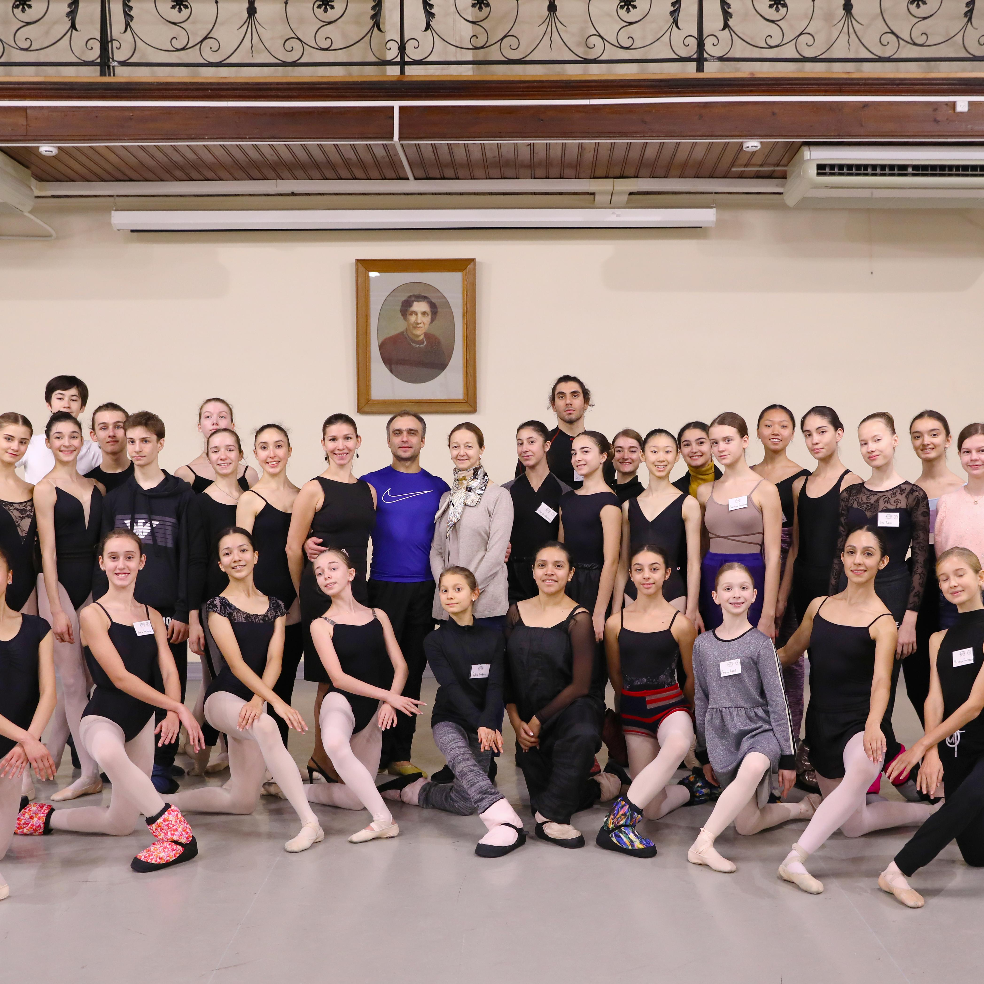 Meeting with ballet stars