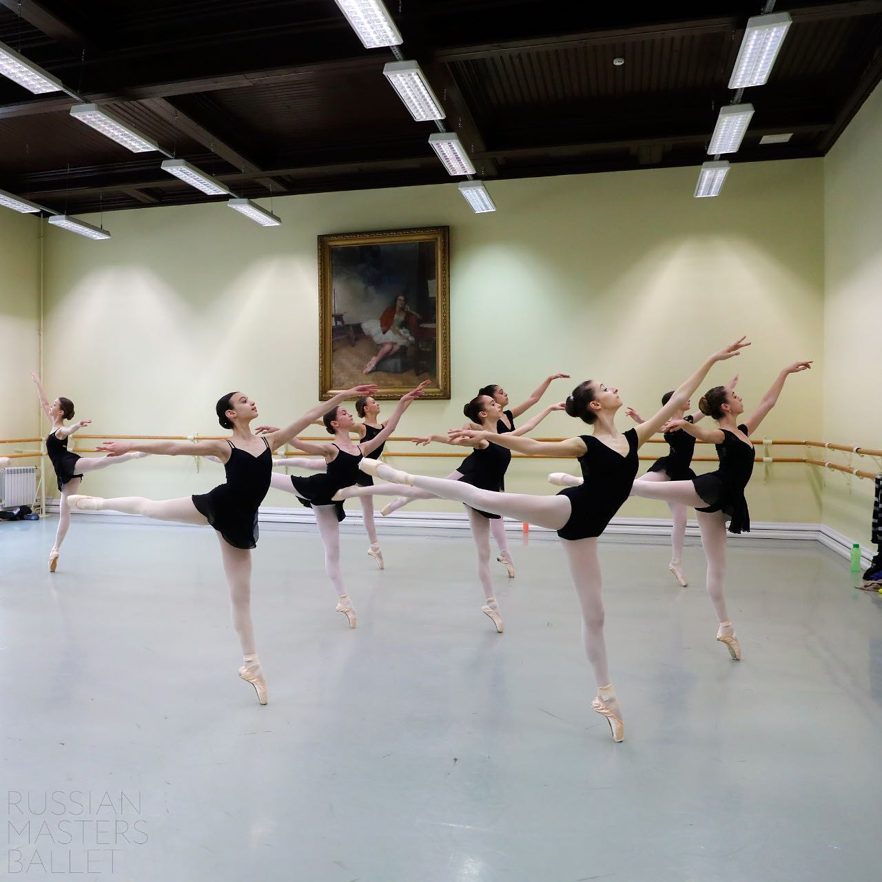 RMB - Classes in the Vaganova Academy
