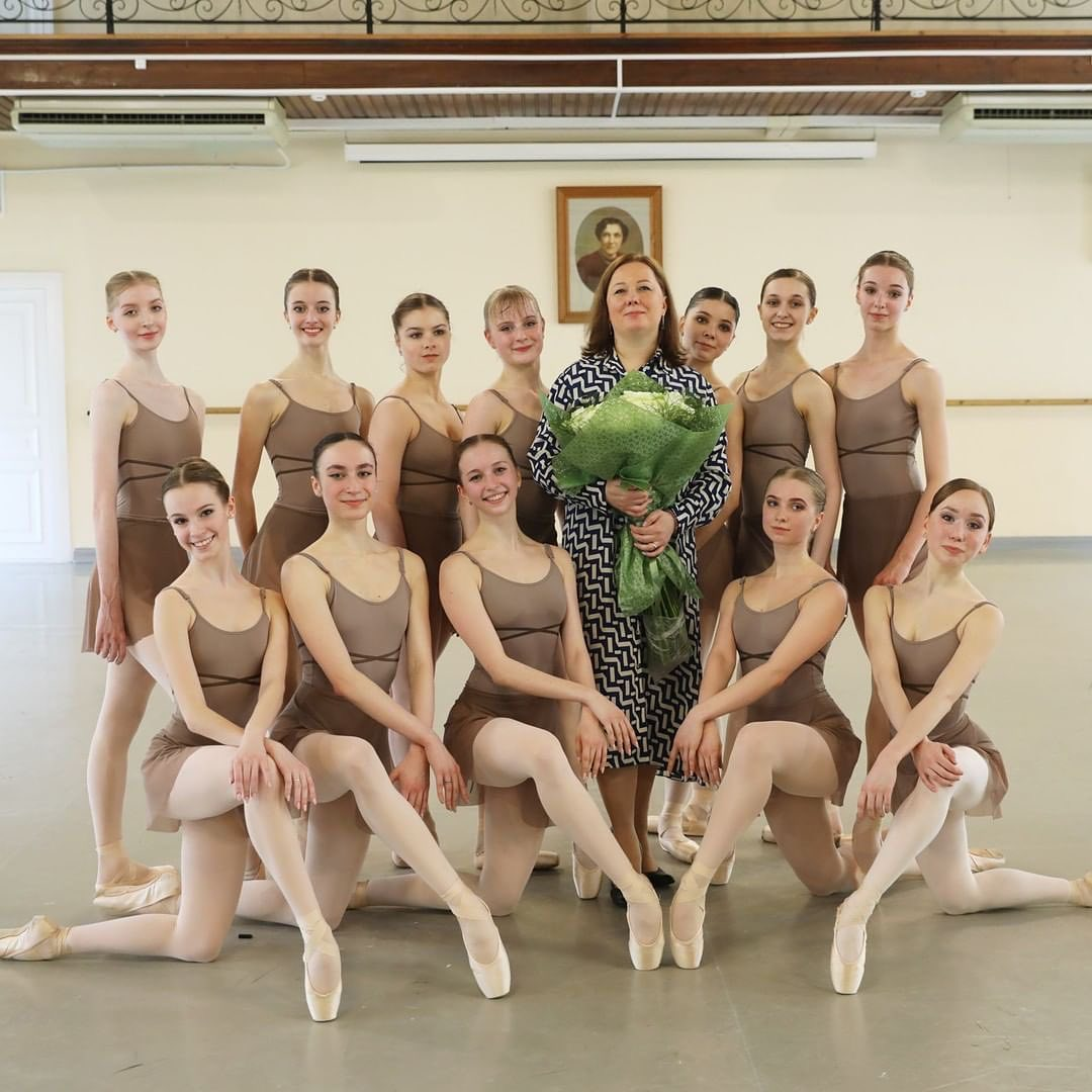 Yulia Kasenkova - An exam at the Vaganova Academy
