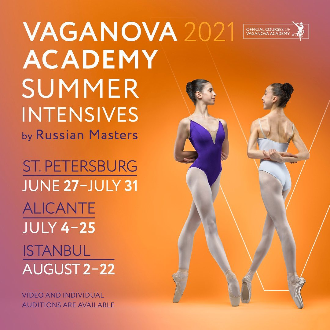 Vaganova Academy Summer Intensives 2021