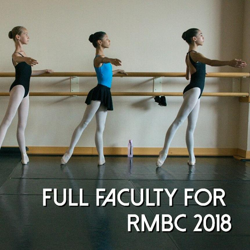FULL FACULTY CONFIRMED FOR RMBC 2018