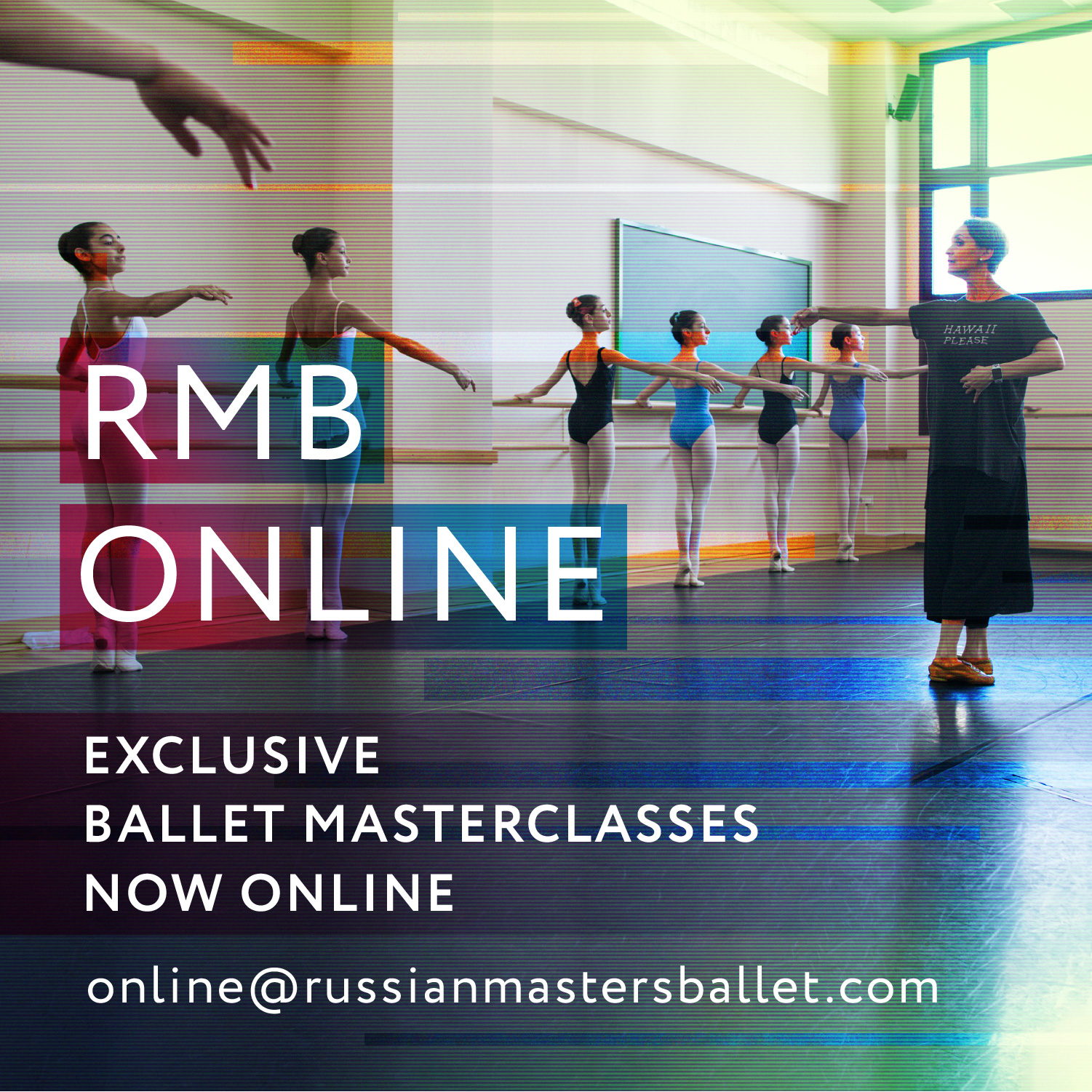 ballet masterclasses now online