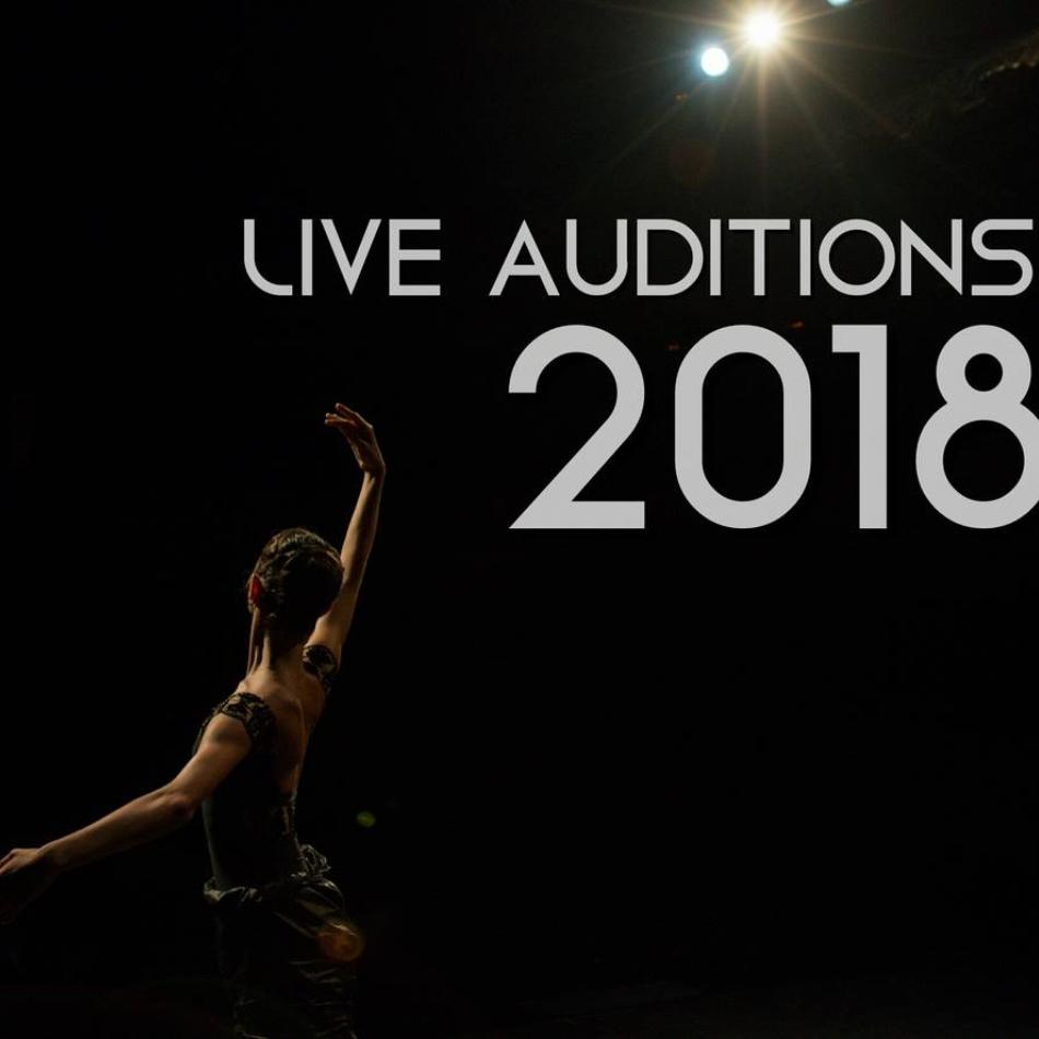 LIVE AUDITIONS IN SPAIN