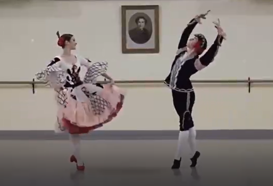 Jaime Almaraz and Valeriya Frishman - students of Vaganova Academy
