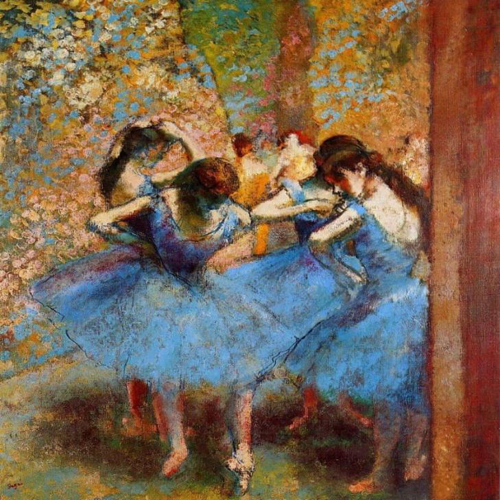 PAINTING THE MOVEMENT: DEGAS AND THE BALLET