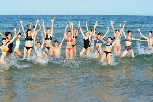 Alicante 2020 - Russian MAsters Ballet Camp - beach