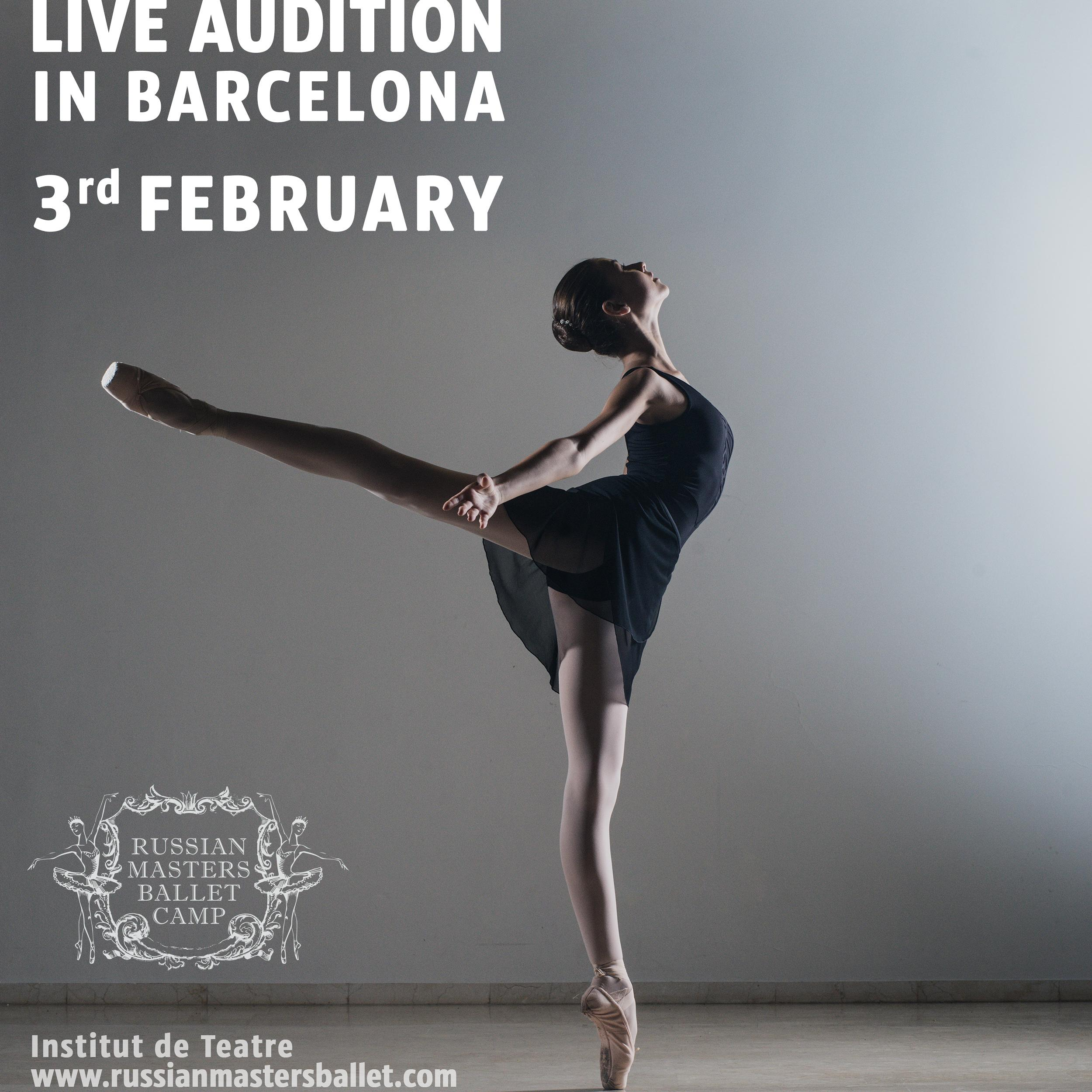 BARCELONA AUDITIONS
