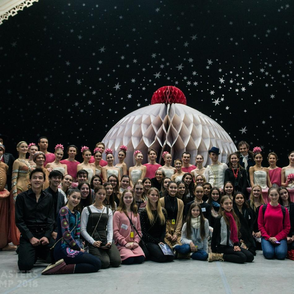 THE STARS OF THE MIKHAILOVSKY THEATER